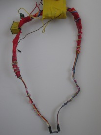 Low Cost Rainbow Necklace (For Kids, By Kids) to allow them play safely.