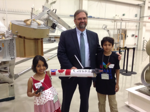 21-Meeting the Director General of Space exploration