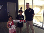 23-Meeting Ed who trains astronauts in using Canada Arm