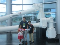 9-in front of canada arm