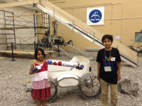 Checking out the CSA Rover