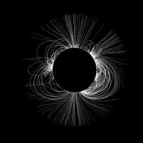 predicted shape of Solar Corona