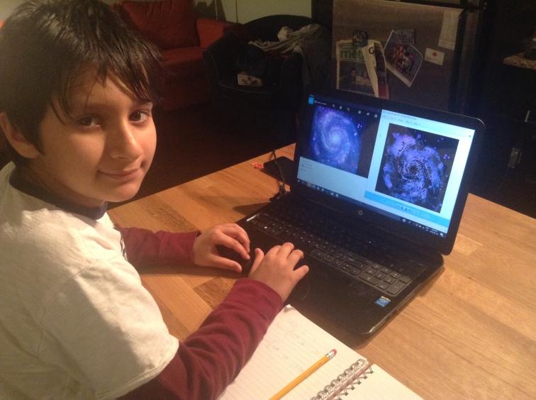 Artash Working on M51-2