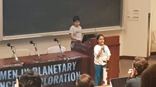 Arushi speaking at WPSE