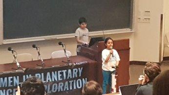 Arushi speaking at WPSE