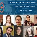 sciencemarch speakers
