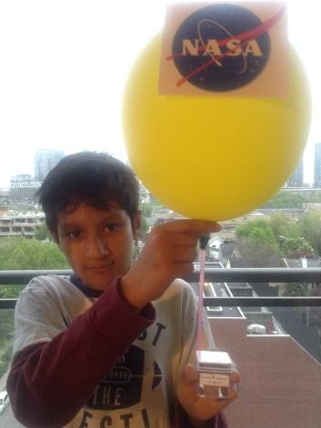 nasa balloon