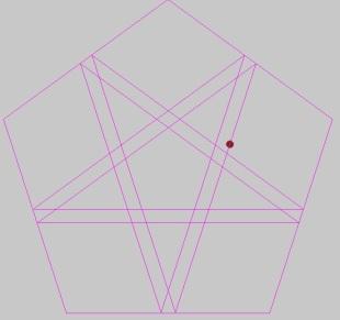 star inside pentago
