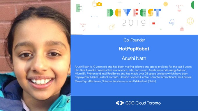 arushi gdg