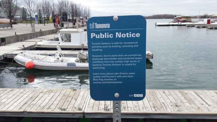 Ontario Lake Closed for Swimming